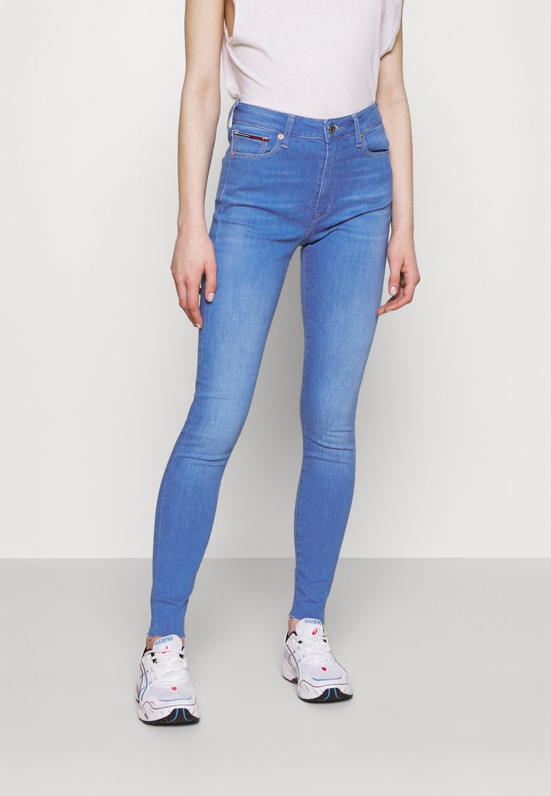 Tommy Jeans - SYLVIA SKINNY ANKLE - Jeans Skinny Fit - lane