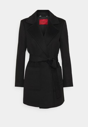 SHORTRUN - Classic coat - black