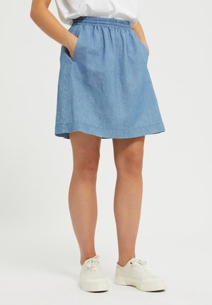 FRIDRIKAA - A-line skirt - foggy blue