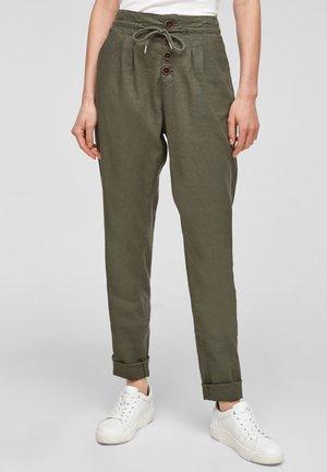 REGULAR FIT - Pantalon classique - khaki
