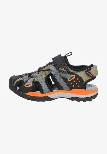Walking sandals - beige/orange