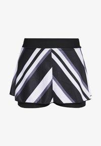 Nike Performance - FLOUNCY SKIRT PRINTED - Spódnica sportowa - black/white - 4
