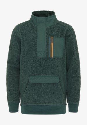 Fleece jumper - dark green