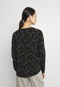 b.young - BYJOSA V NECK - Long sleeved top - deep depths - 2