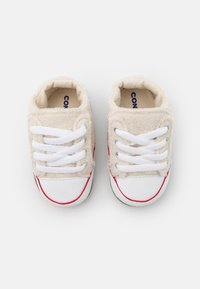 Converse - CHUCK TAYLOR ALL STAR CRIBSTER UNISEX - Chaussons pour bébé - natural ivory/white - 3