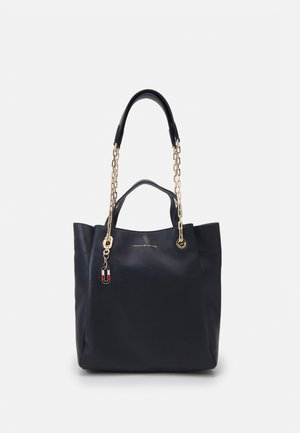 LUXE TOTE - Across body bag - blue