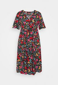 Simply Be - SLEEVE DRESS - Korte jurk - black - 0