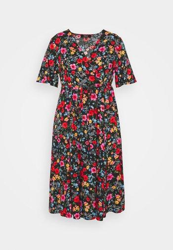 SLEEVE DRESS - Denní šaty - black