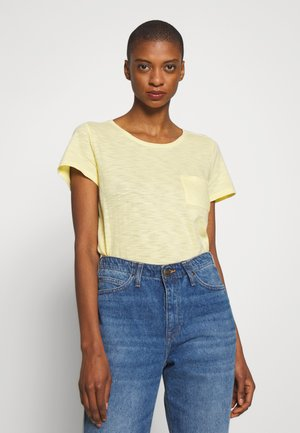 EASY SCOOP - Basic T-shirt - spring yellow