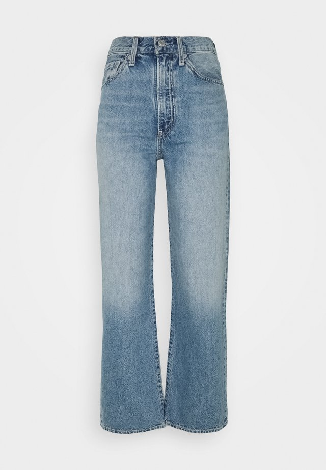 WELLTHREAD RIBCAGE ANKLE - Straight leg jeans - moon stone indigo