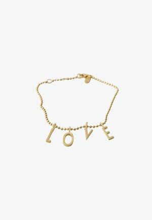 L-O-V-E BRACELET - Bracelet - gold