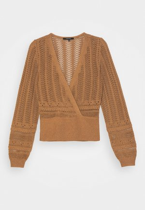 JADE - Strickpullover - brown