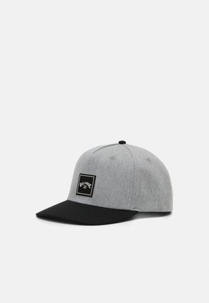 STACKED SNAPBACK - Gorra - grey heather