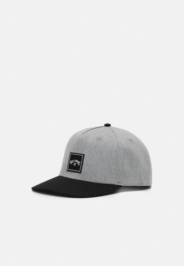 STACKED SNAPBACK - Cap - grey heather