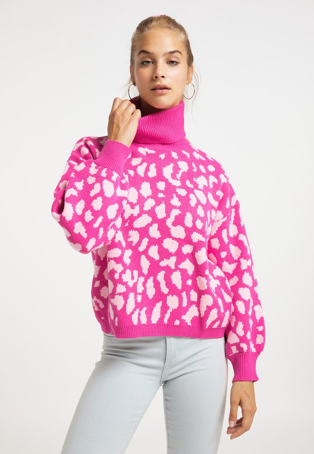 Sweter - pink rosa