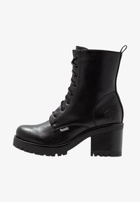 Dockers by Gerli - Platform ankle boots - schwarz/dunkelgrau - 1