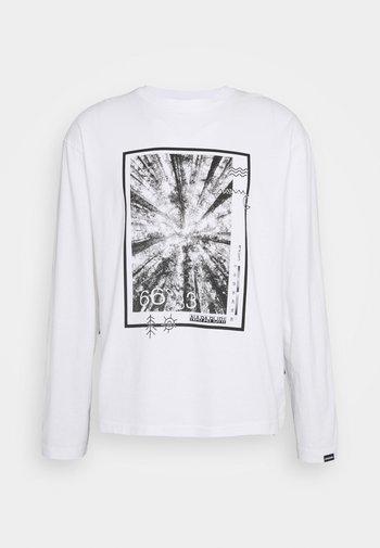 PASILAN UNISEX - Long sleeved top - bright white
