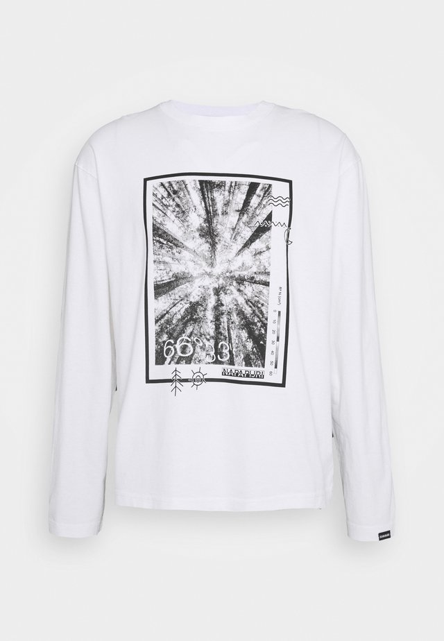 PASILAN UNISEX - Long sleeved top - bright white