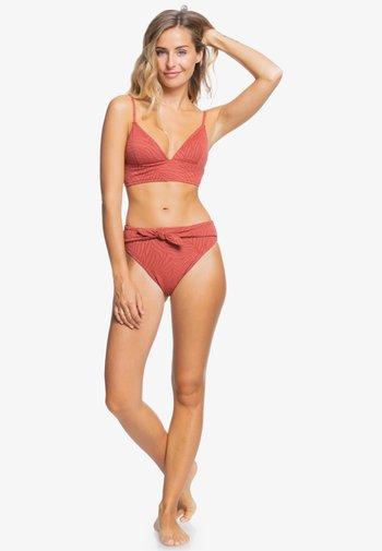 WILD BABE - Bikini bottoms - marsala