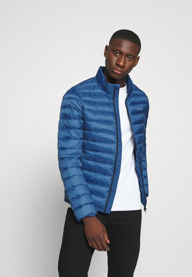 LIGHT LINER - Down jacket - blue