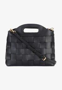 HALLHUBER - FLECHTOPTIK - Handbag - schwarz - 1