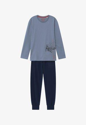 PYJAMA LONG - Pyžamová sada - blue-fog