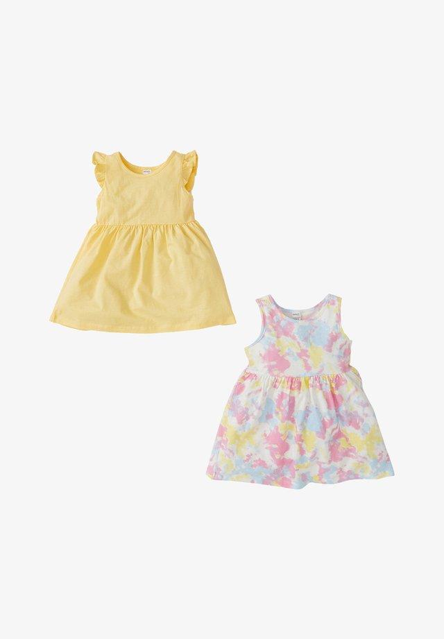 2 PACK - Robe d'été - yellow