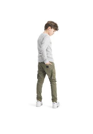JABORI - Long sleeved top - grey mele