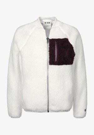 Fleece jacket - off white