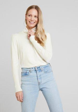 ECOVERO ROLL - Stickad tröja - offwhite