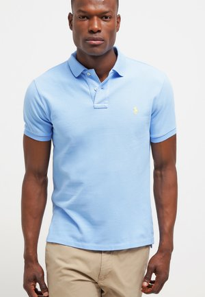SLIM FIT - Polo shirt - light blue