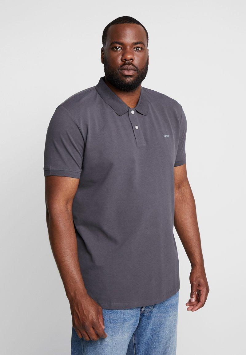 Esprit - BASIC PLUS BIG - Polo shirt - anthracite