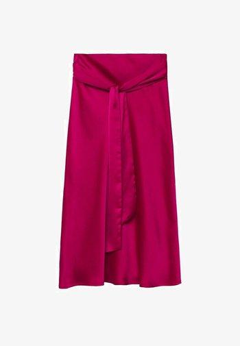 A-line skirt - fuchsia