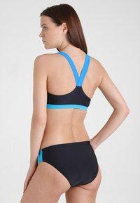 Arena - TWO PIECE SET - Bikini - black/pix blue/turquoise - 2