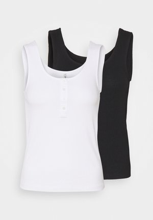 ONLSIMPLE LIFE PACK - Top - black/bright white