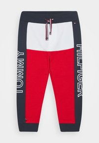 Tommy Hilfiger - BABY COLORBLOCK - Trousers - blue - 0