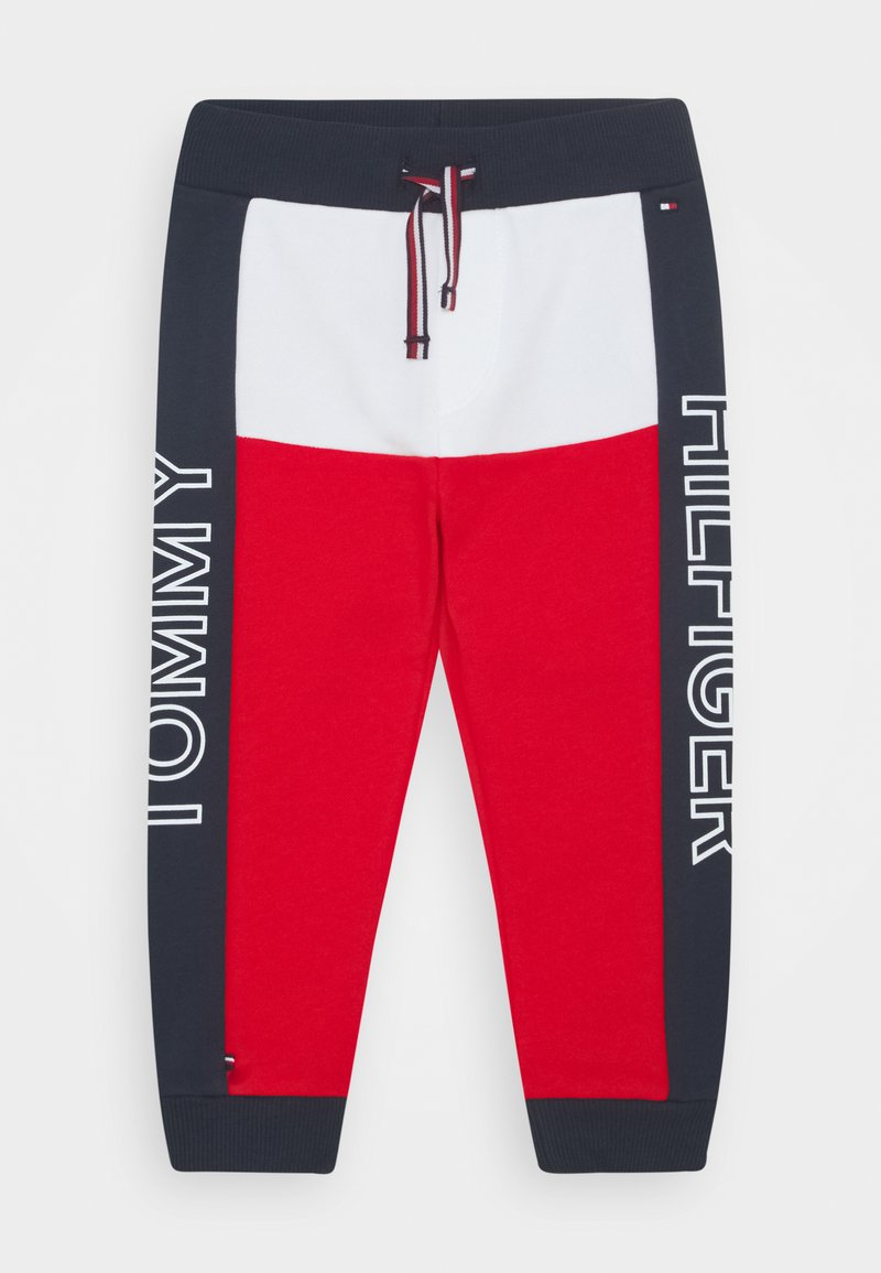 Tommy Hilfiger - BABY COLORBLOCK - Trousers - blue