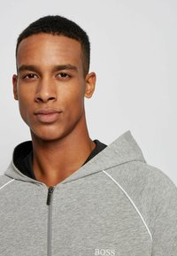BOSS - veste en sweat zippée - grey - 3