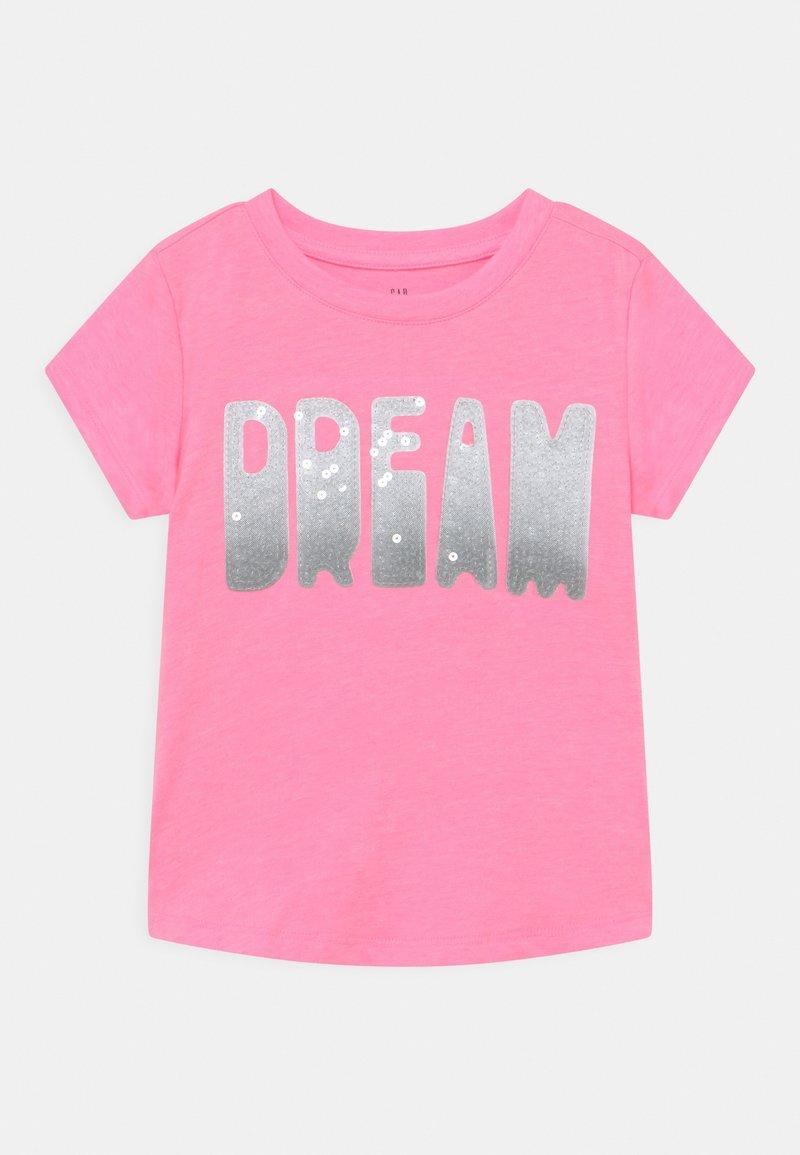 GAP - GIRL TEE - T-shirts print - neon impulsive pink