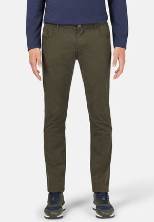 Slim fit jeans - military green