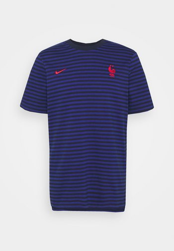 FRANKREICH FFF AIR  - T-shirt med print - blackened blue/deep royal blue/university red