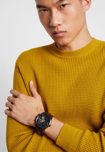 VIGOR - Watch - brown/gold