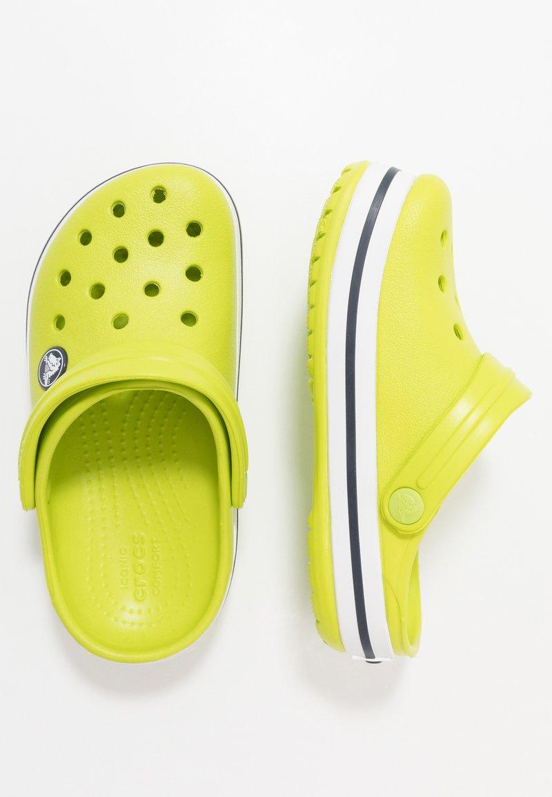Crocs - CROCBAND CLOG - Ciabattine - lime punch