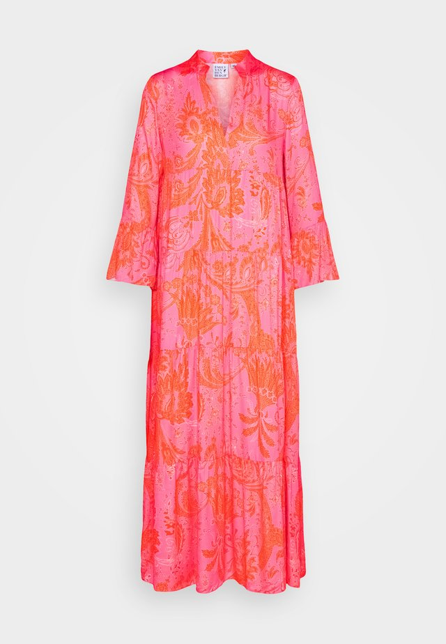 Robe longue - pink/orange