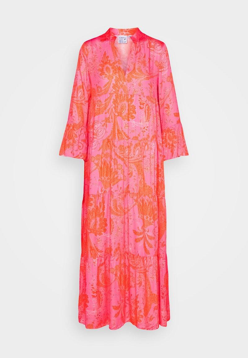 Emily van den Bergh - Maxikjole - pink/orange