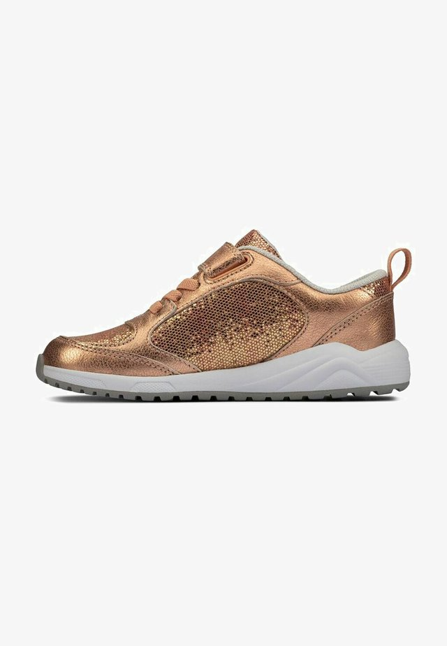 AEON FLEX - Sneakers laag - copper leather