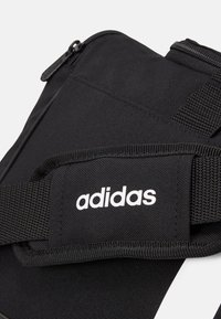 adidas Performance - ESSENTIALS 3 STRIPES SPORTS DUFFEL BAG UNISEX - Sports bag - black/black/white - 4