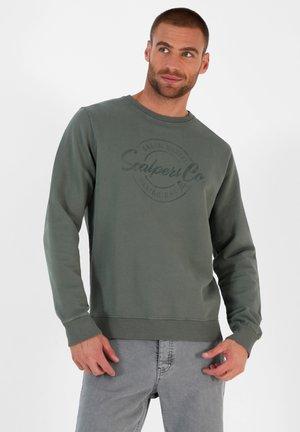 STAMP - Sweatshirt - green