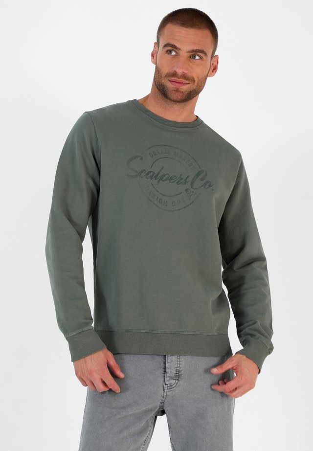 STAMP - Sweater - green