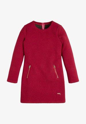 LUREX - Jumper dress - dunkelrosa